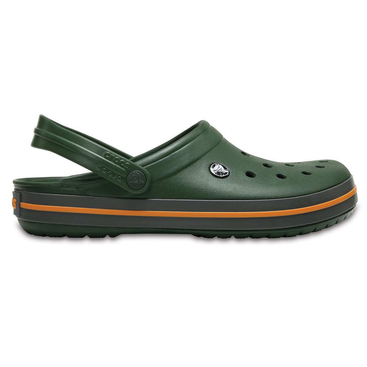 Crocs Crocband - Orman Yeşili/Barut Rengi