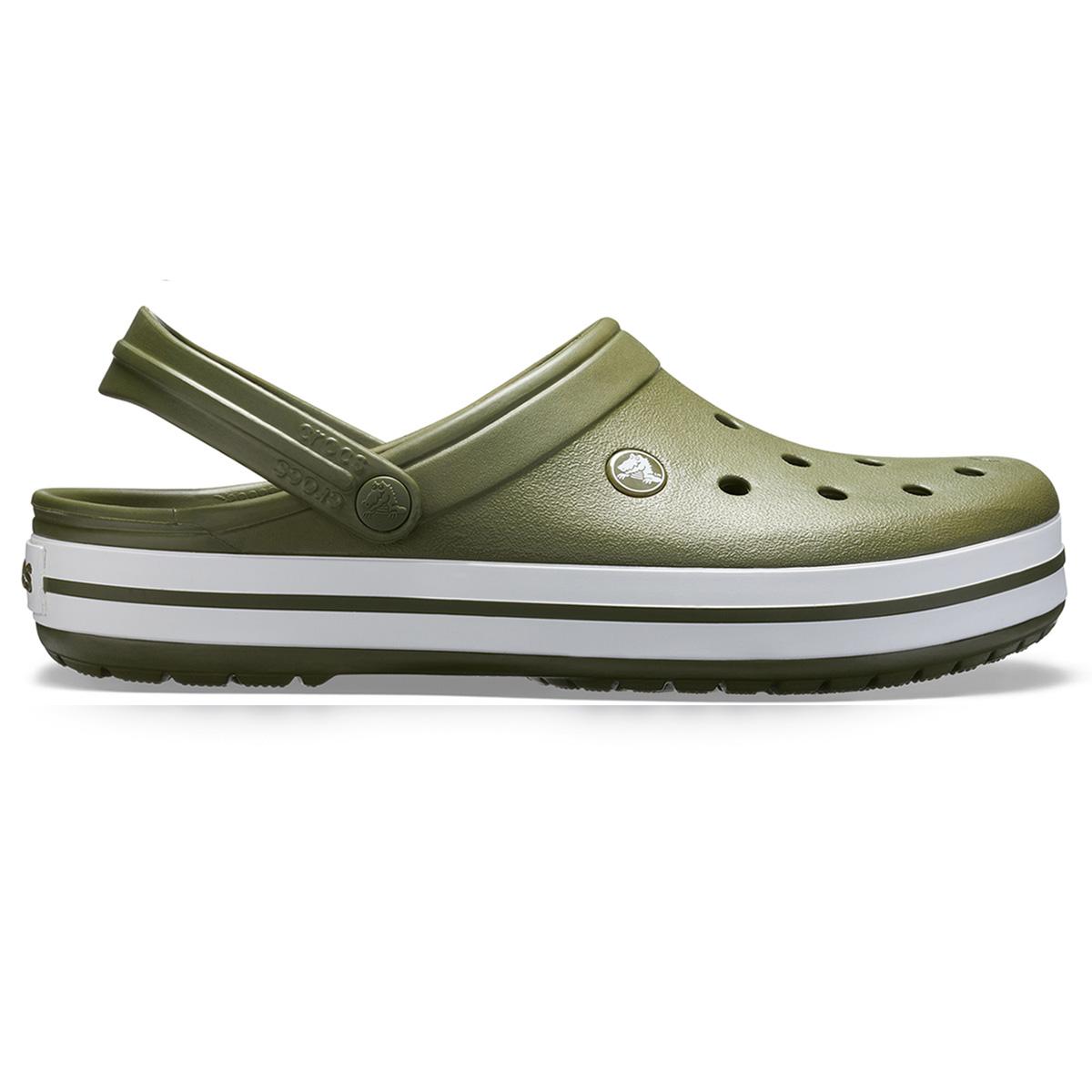 Crocs Crocband - Askeri yeşil/Beyaz