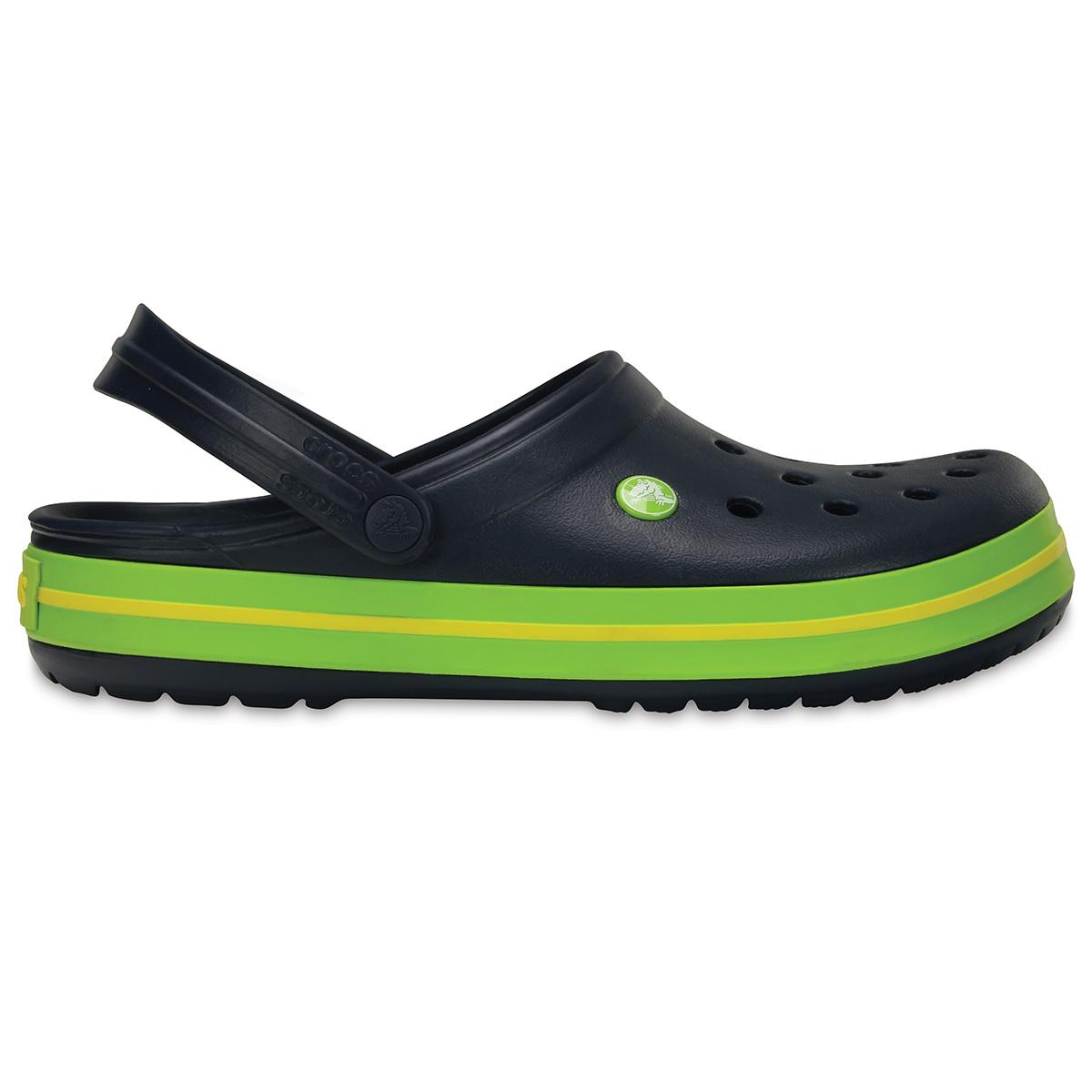 Crocs Crocband - Lacivert/Volt Yeşil/Limon