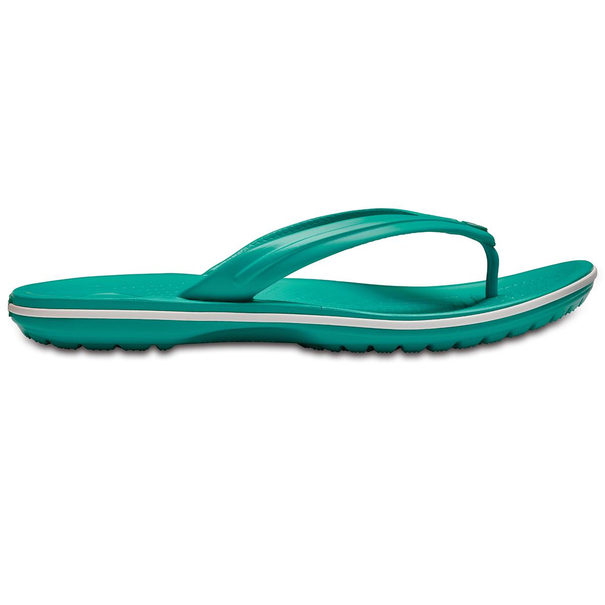 Crocs Crocband Flip - Tropikal Deniz Mavisi/Beyaz