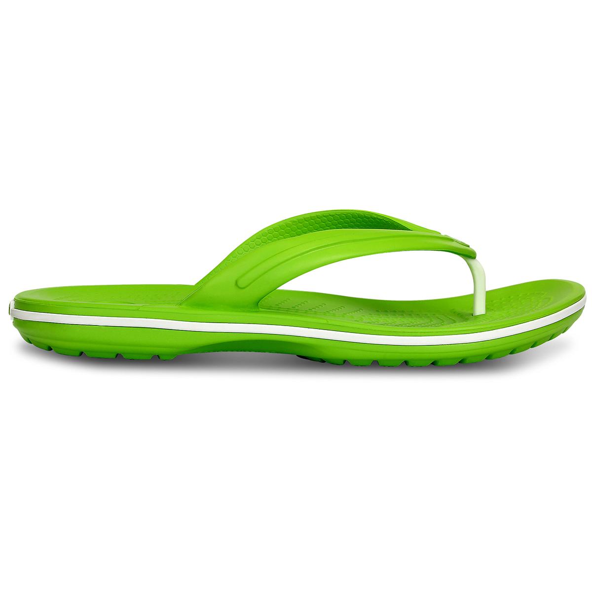 Crocs Crocband Flip - Volt Yeşil/Beyaz