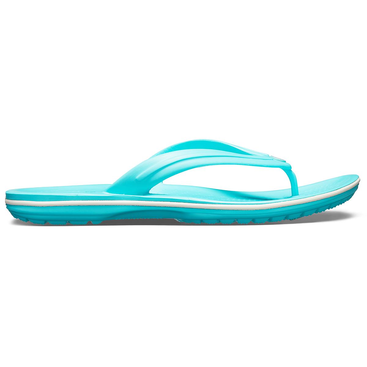 Crocs Crocband Flip - Havuz/Beyaz