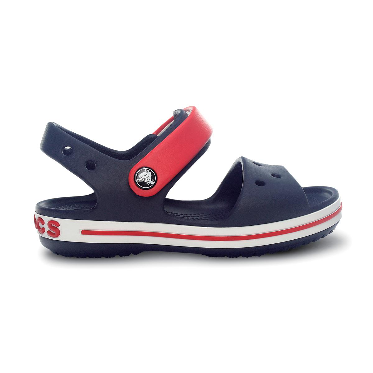 Crocs Crocband Sandal Kids - Lacivert/Kırmızı