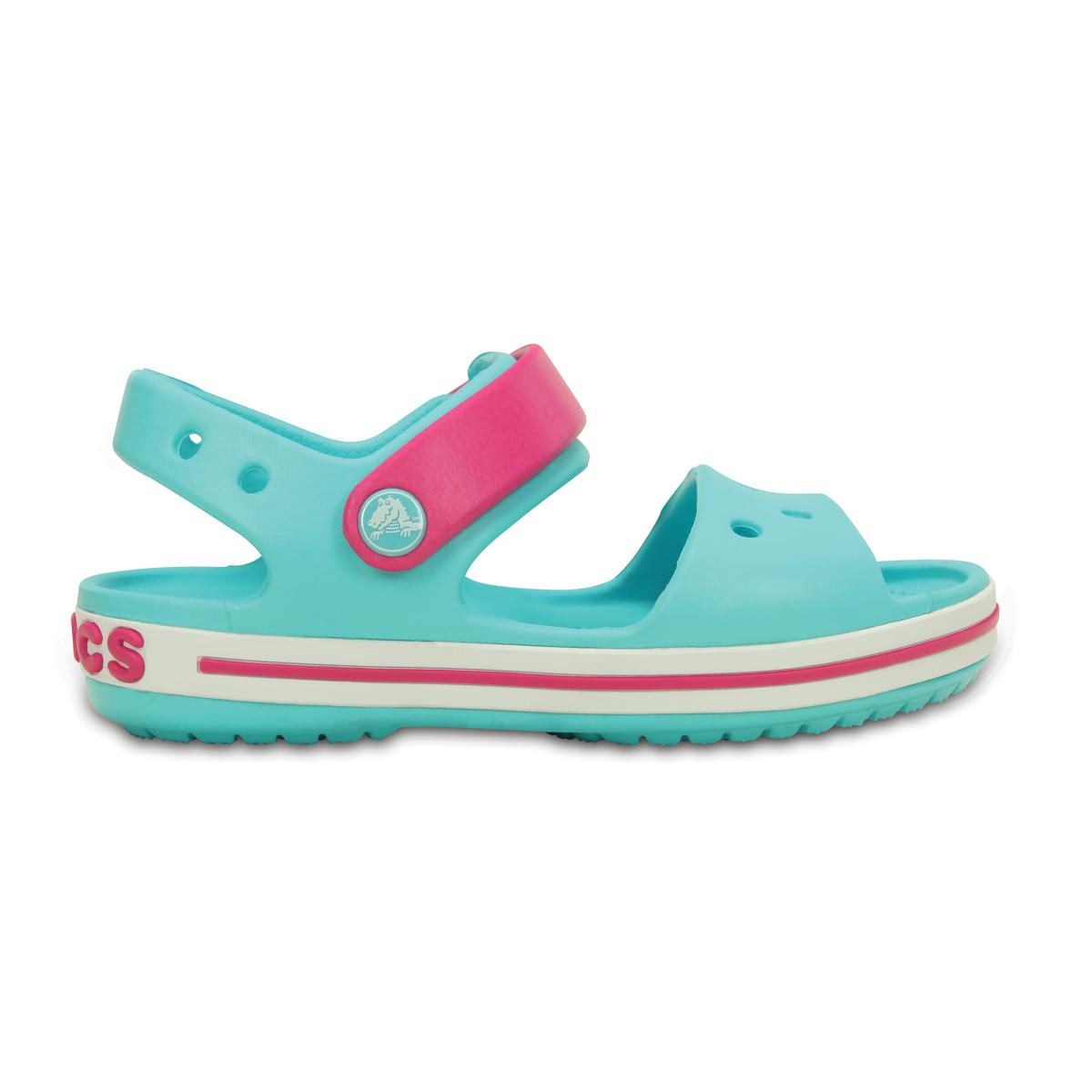 Crocs Crocband Sandal Kids - Havuz/Şeker Pembesi