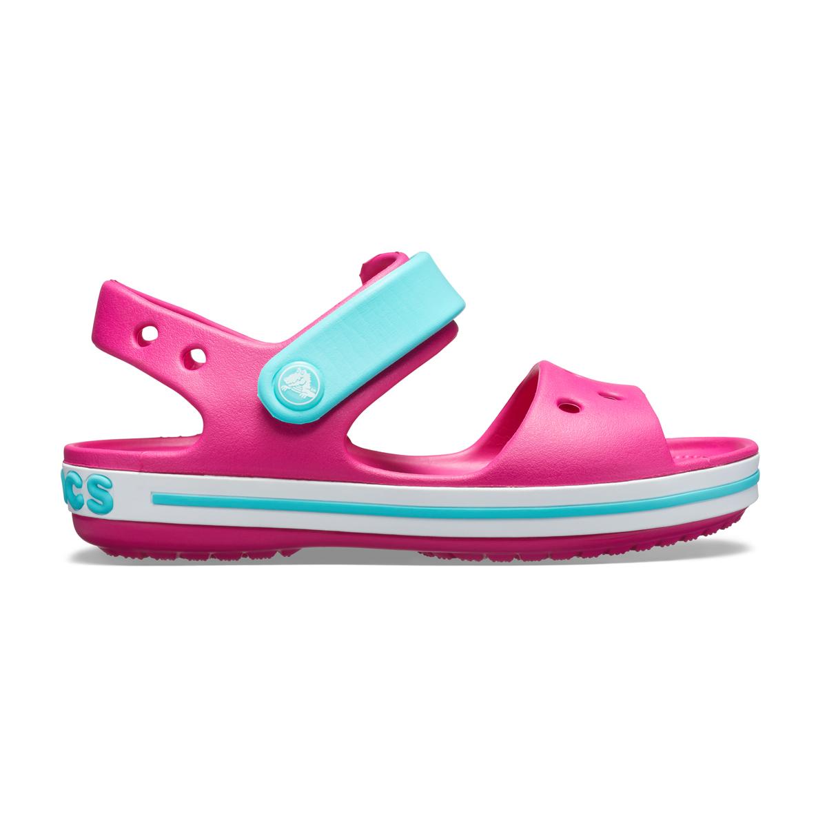 Crocs Crocband Sandal Kids - Şeker Pembesi/Havuz