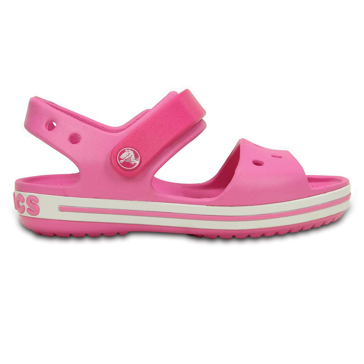 Crocs Crocband Sandal Kids - Şeker Pembesi/Parti Pembesi