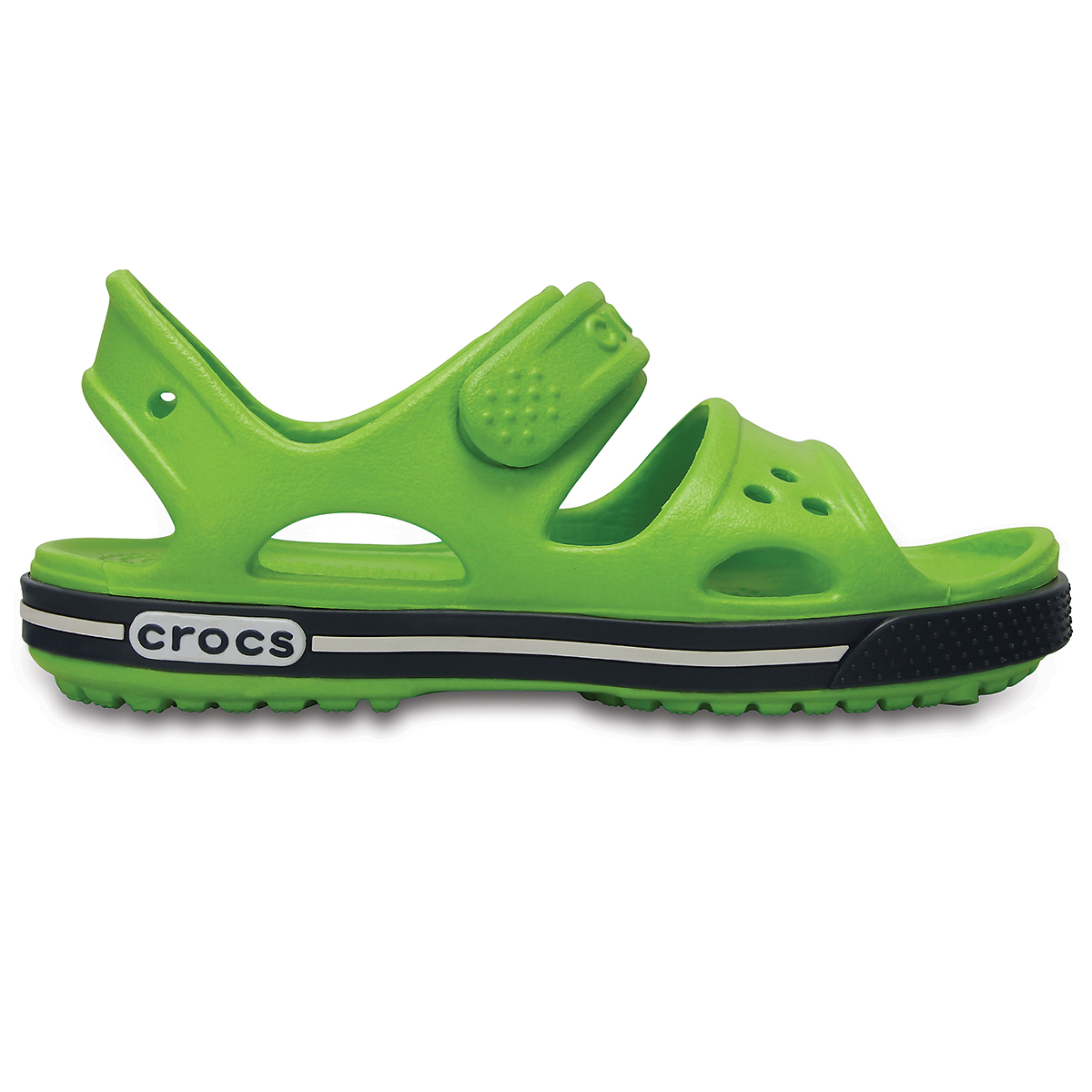 Crocs Crocband II Sandal PS - Volt Yeşil/Lacivert
