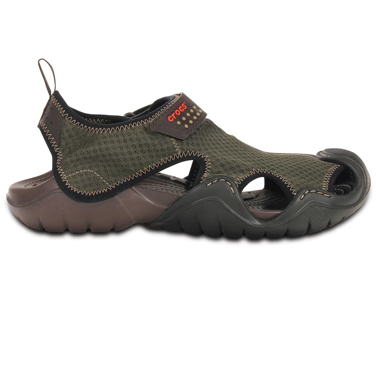 Crocs Swiftwater Sandal M - Espresso/Espresso