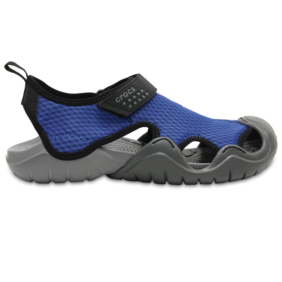 Crocs Swiftwater Sandal M - Mavi Jean/Barut Rengi