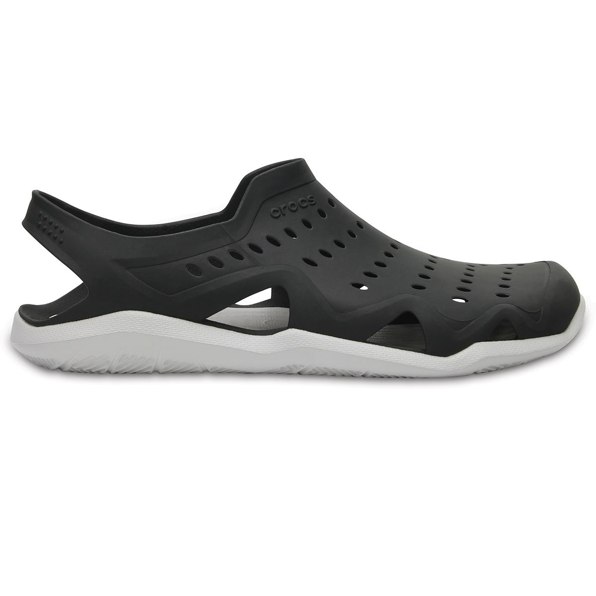 Crocs Swiftwater Wave M - Siyah/İnci Beyazı