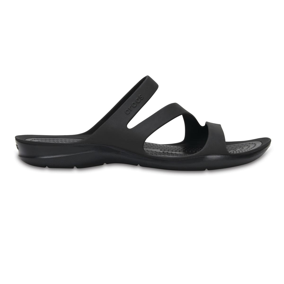 Crocs Swiftwater Sandal W - Siyah/Siyah
