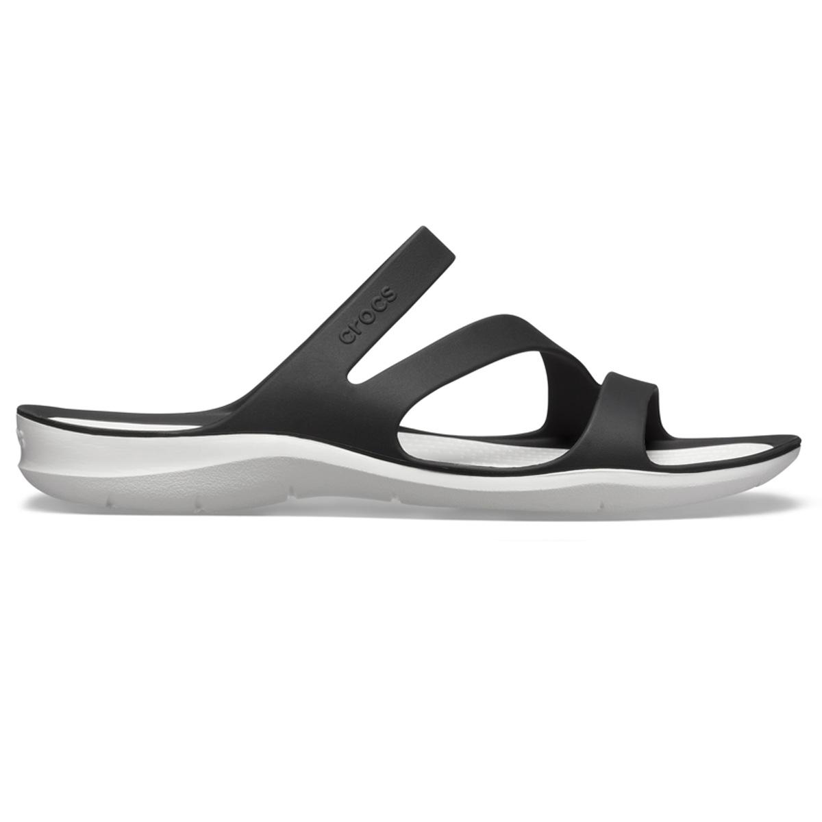 Crocs Swiftwater Sandal W - Siyah/Beyaz