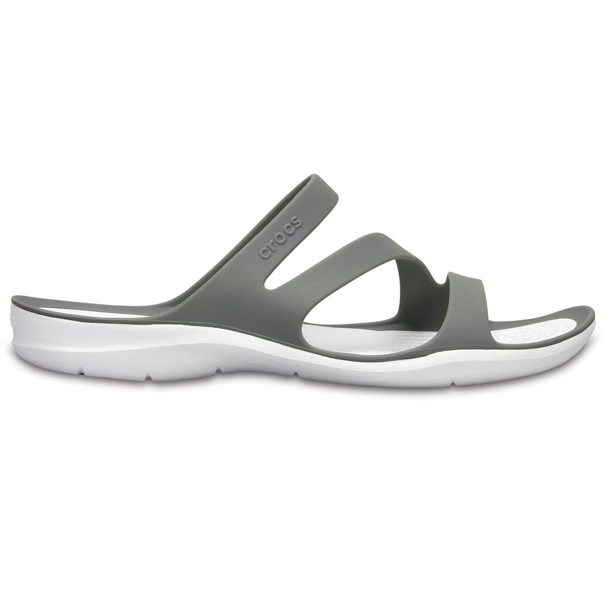 Crocs Swiftwater Sandal W - Duman/Beyaz