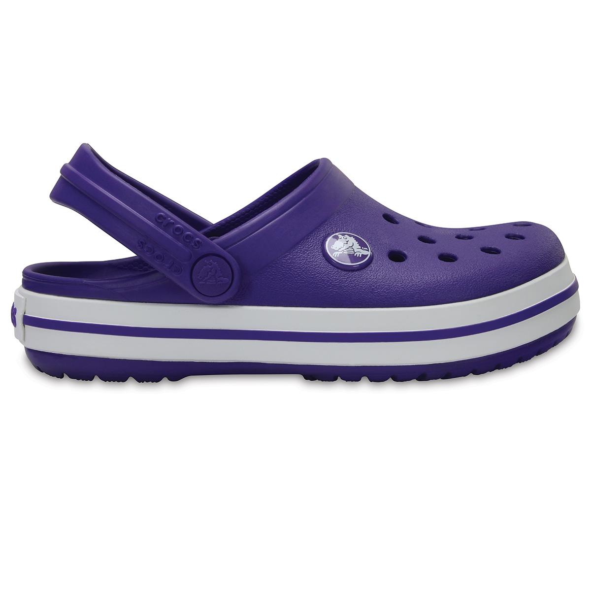 Crocs Crocband Clog K - Ultraviyole/Beyaz