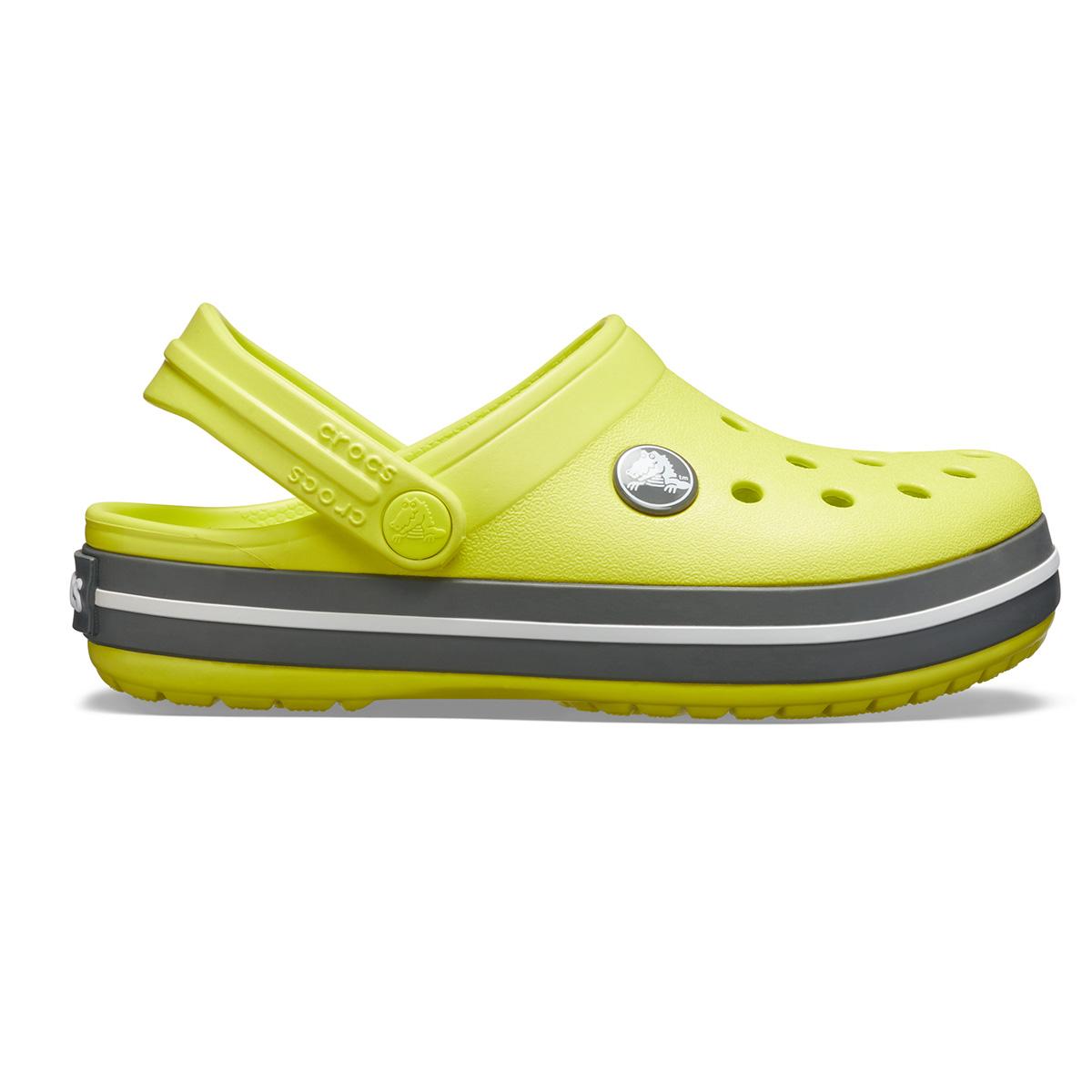 Crocs Crocband Clog K - Turunçgil/Barut rengi