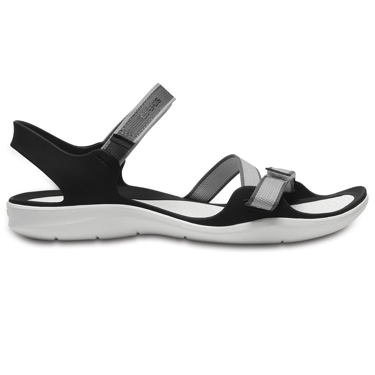 Crocs Swiftwater Webbing Sandal W - İnci Beyazı
