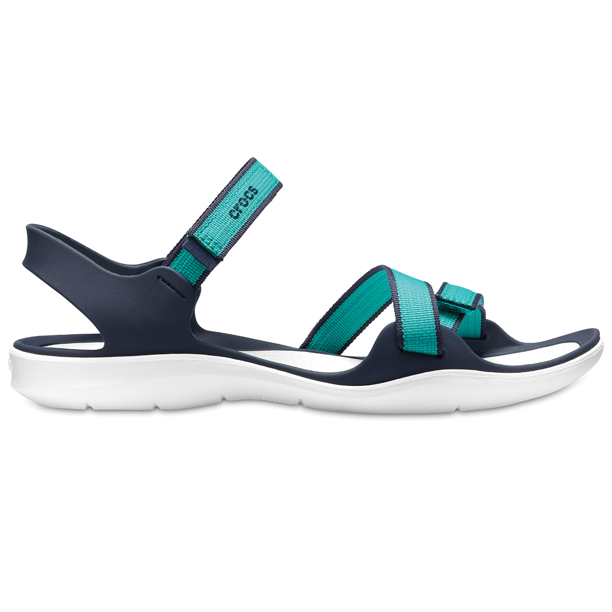 Crocs Swiftwater Webbing Sandal W - Tropikal Deniz mavisi