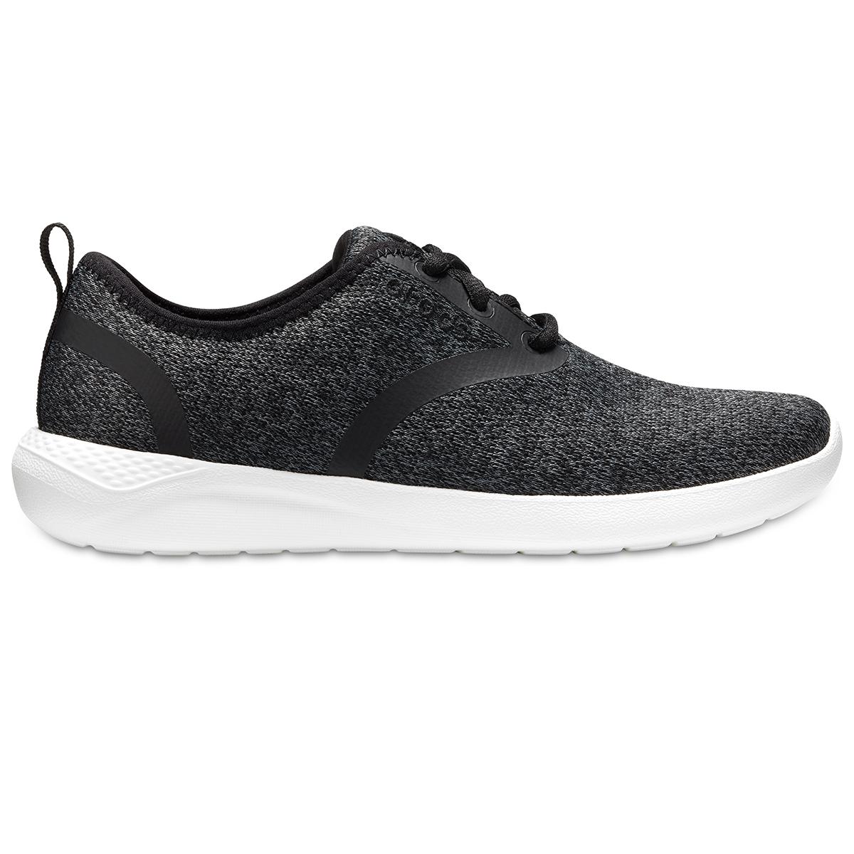 Crocs LiteRide Lace W - Siyah/Beyaz