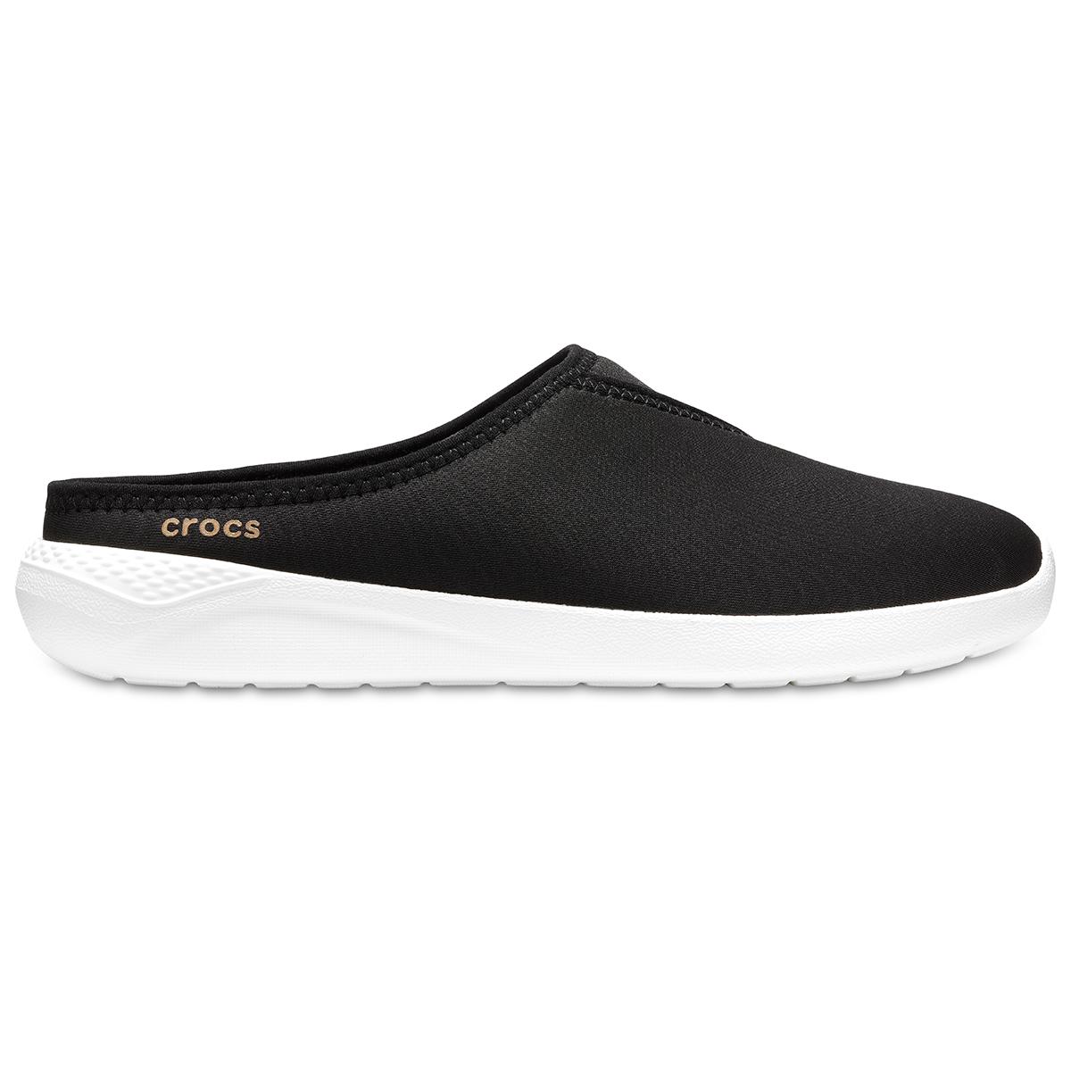 Crocs LiteRide Mule W - Siyah/Beyaz