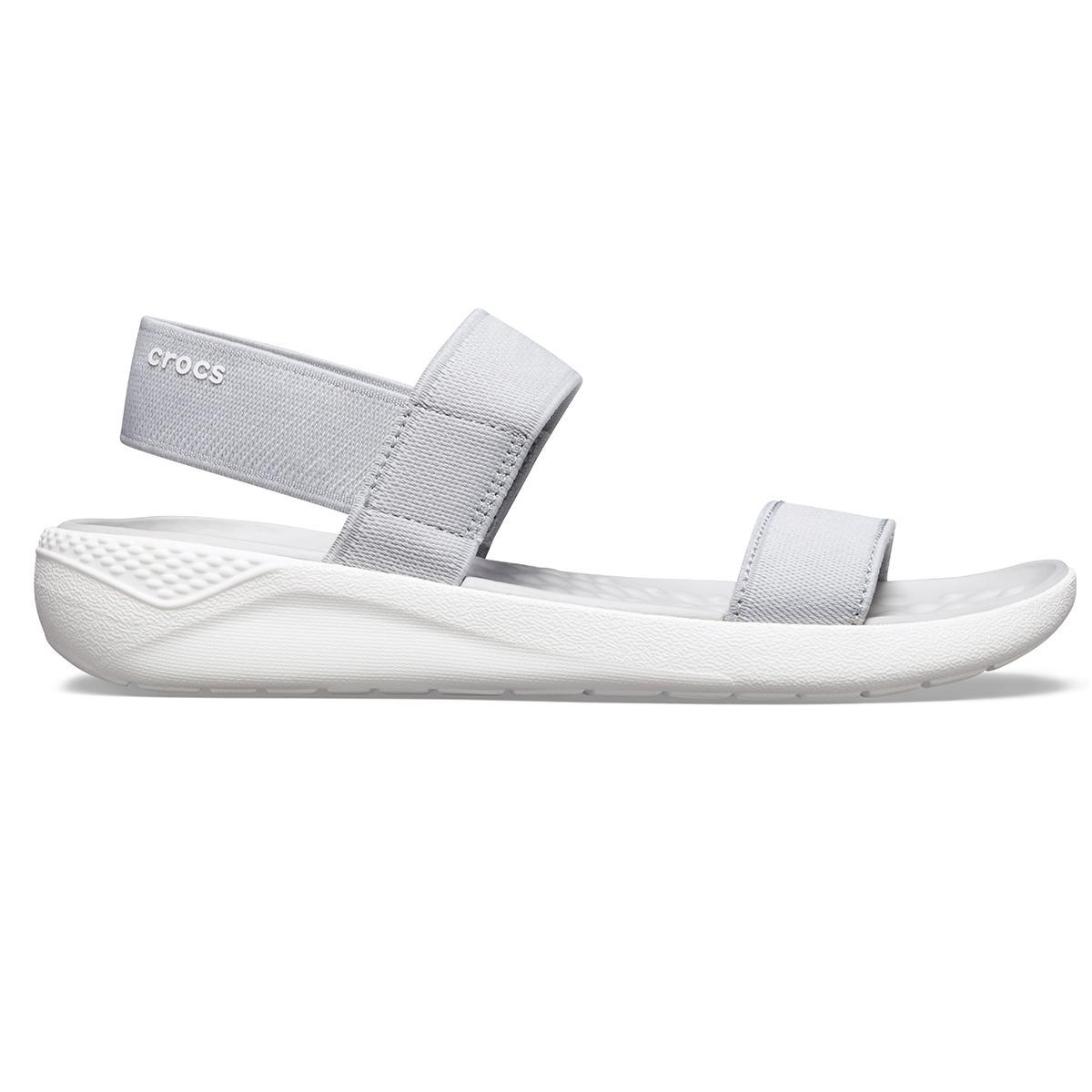 Crocs LiteRide Sandal W - Açık Gri/Beyaz