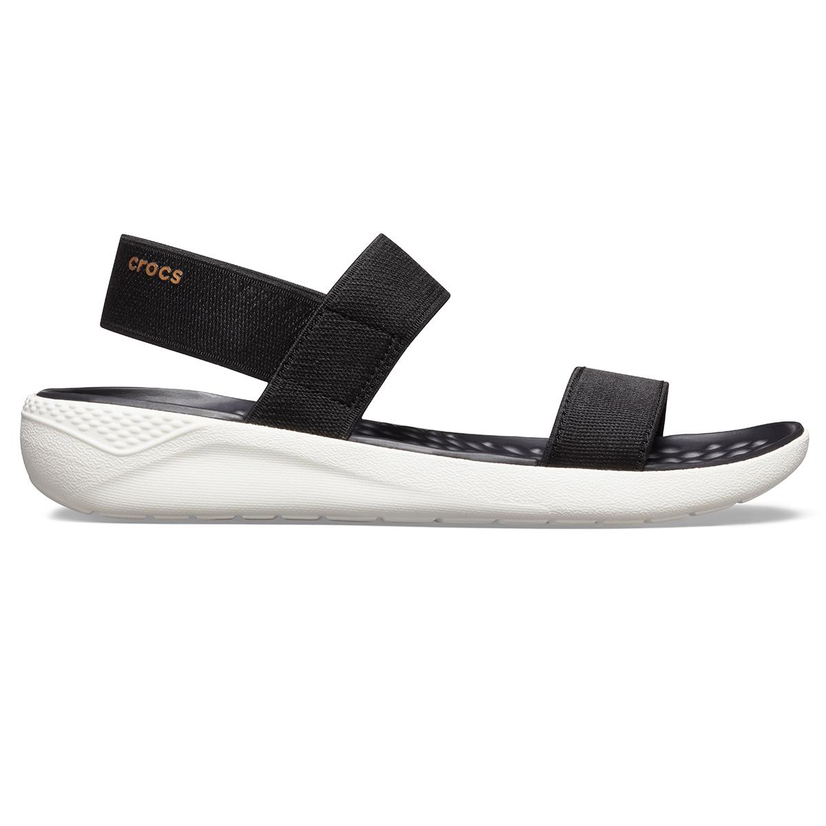 Crocs LiteRide Sandal W - Siyah/Beyaz