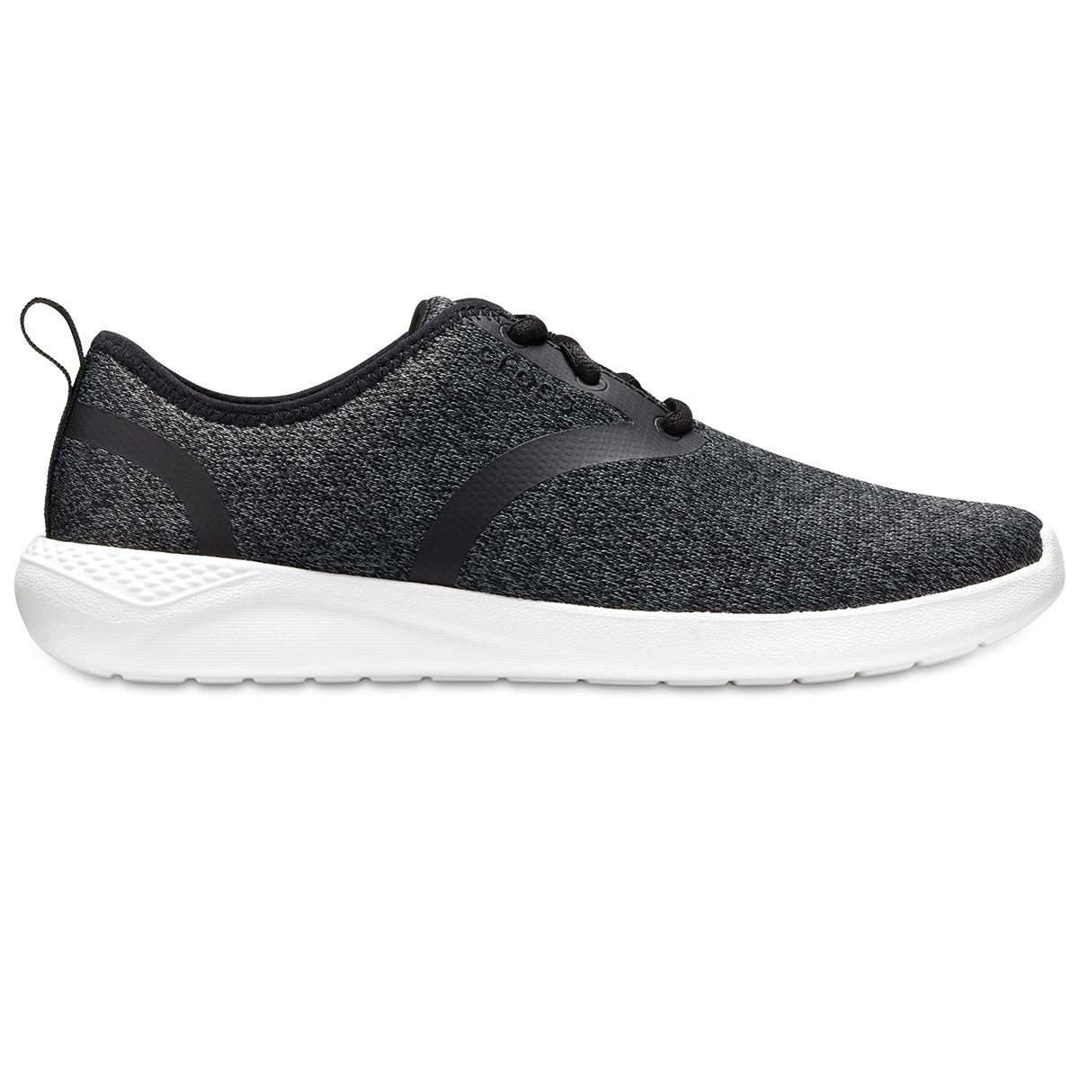Crocs LiteRide Lace M - Siyah/Beyaz