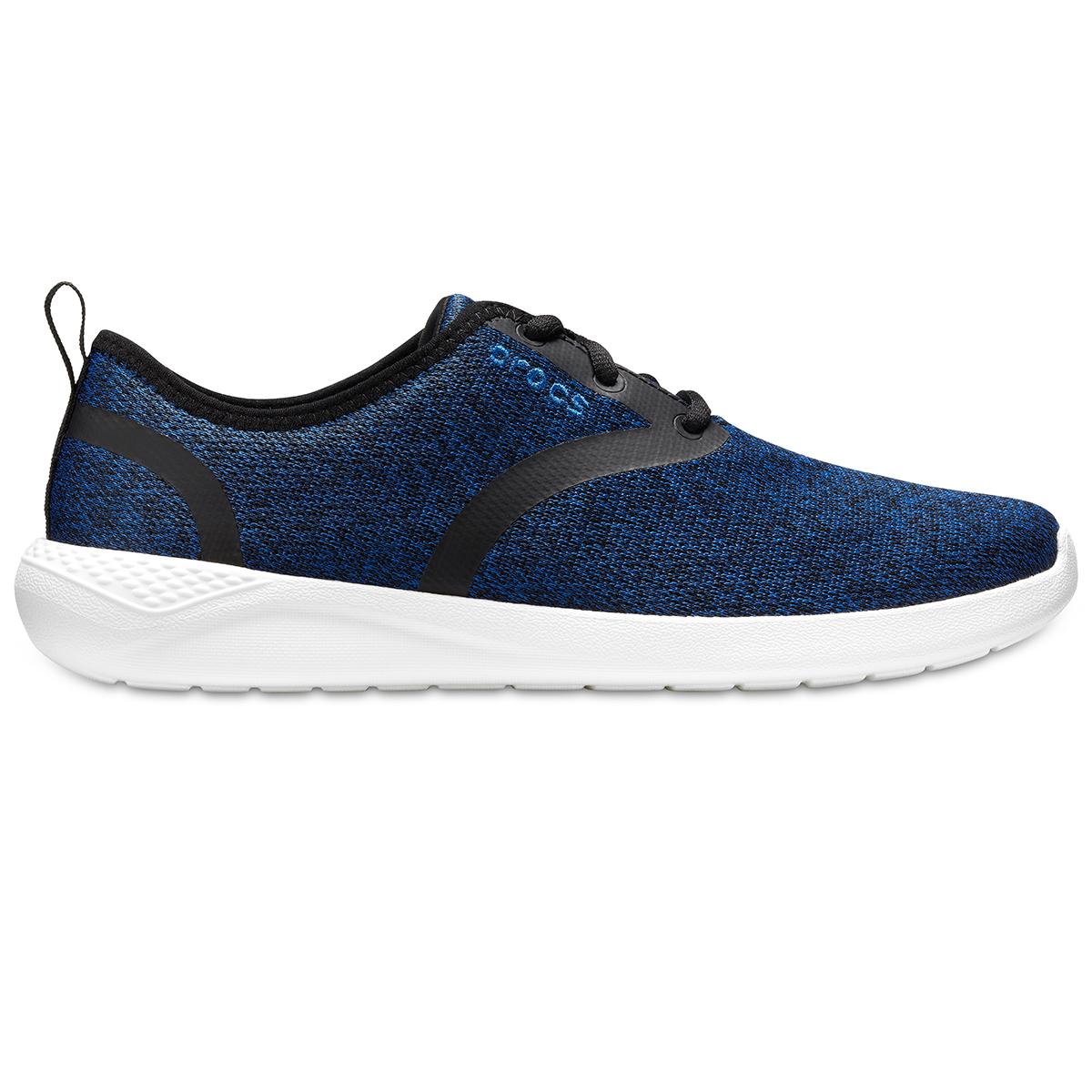 Crocs LiteRide Lace M - Mavi Jean/Beyaz