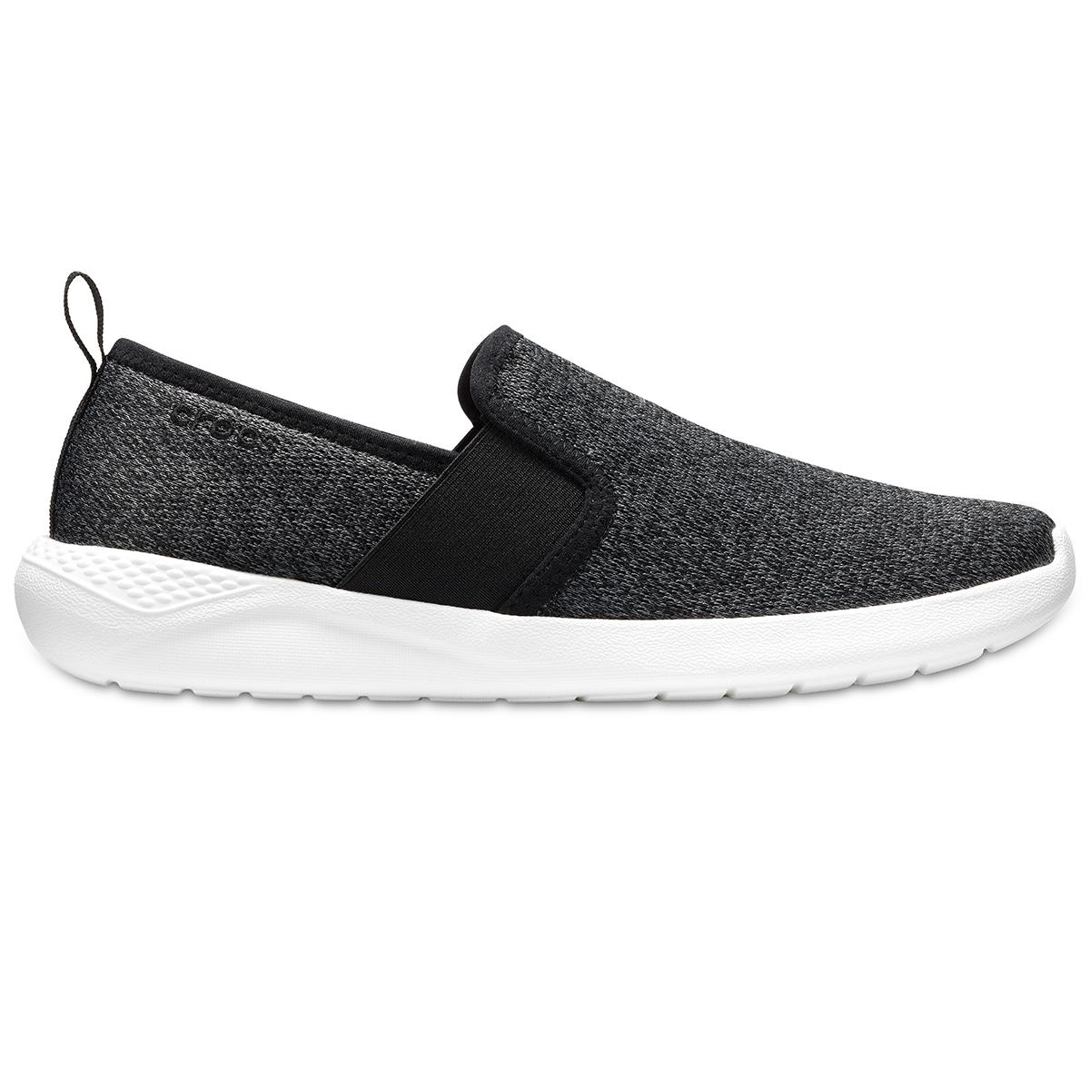 Crocs LiteRide Slip-Ons M - Siyah/Beyaz