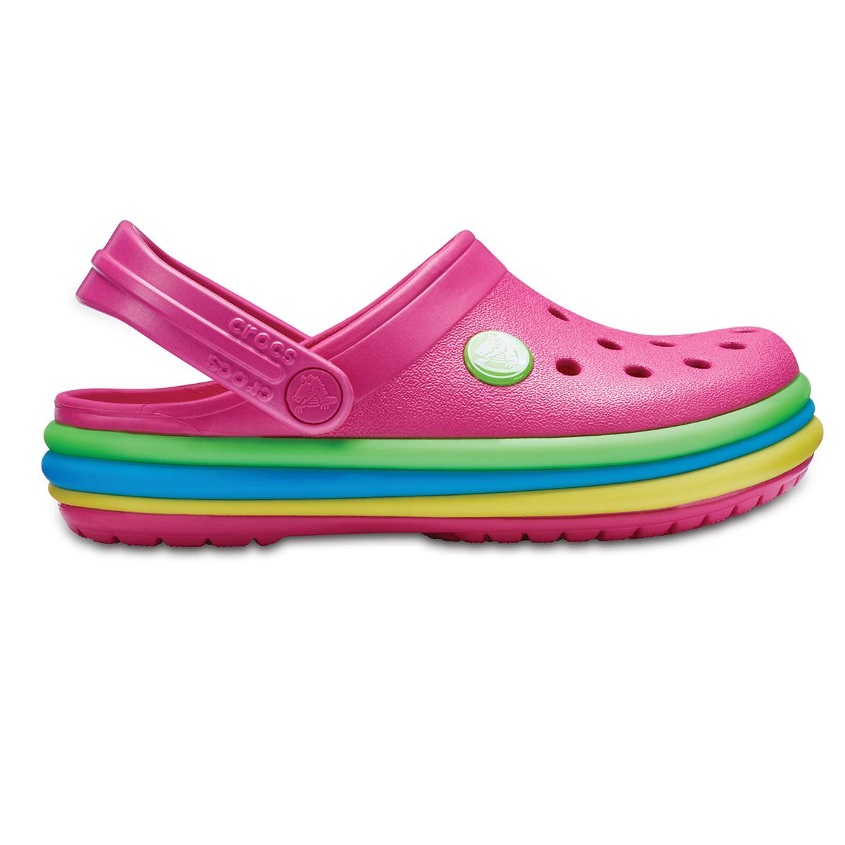Crocs CB Rainbow Band Clog K - Cennet Pembesi