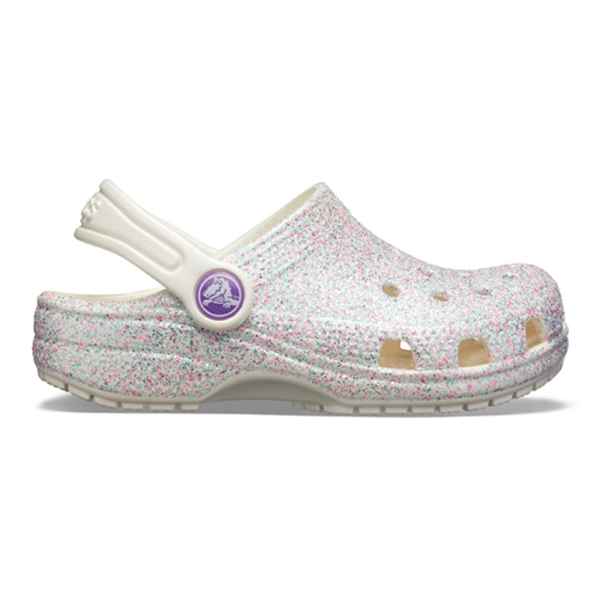 Crocs Classic Glitter Clog K - İstiridye