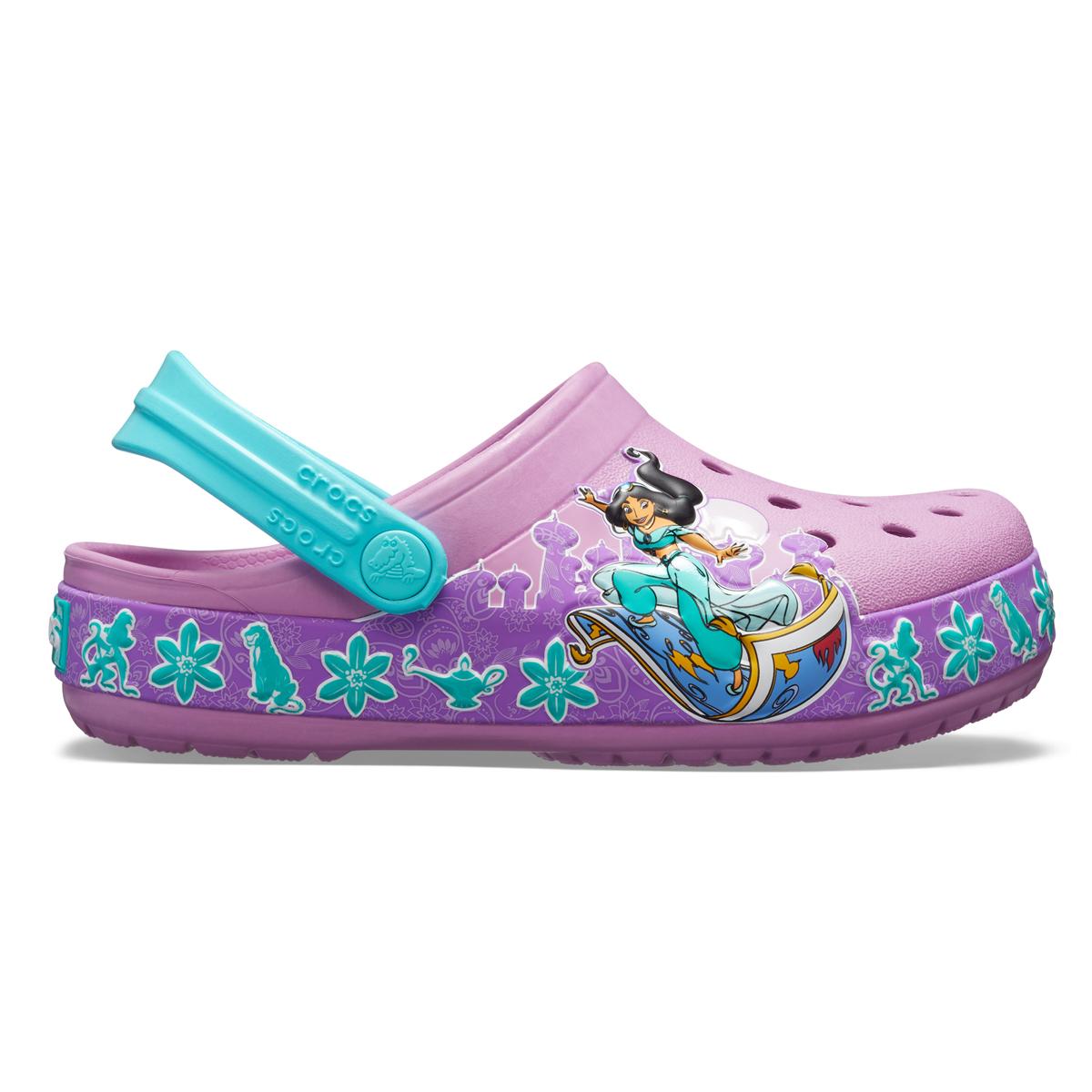 CrocsFL Jasmine Band Clog K - Menekşe