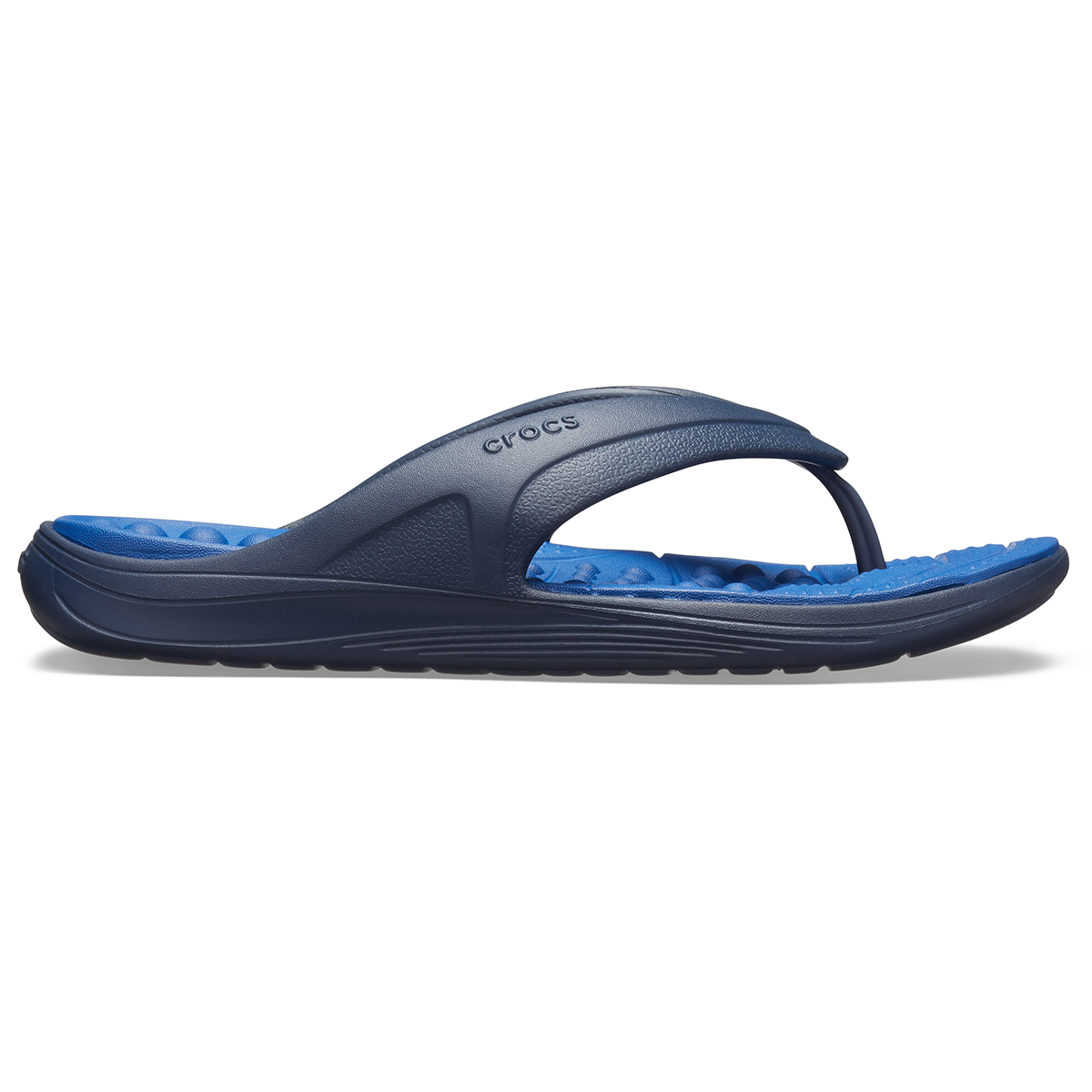 Crocs Reviva Flip - Lacivert/Mavi Jean