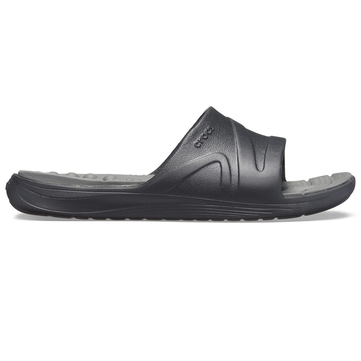 Crocs Reviva Slide - Siyah/Barut Rengi