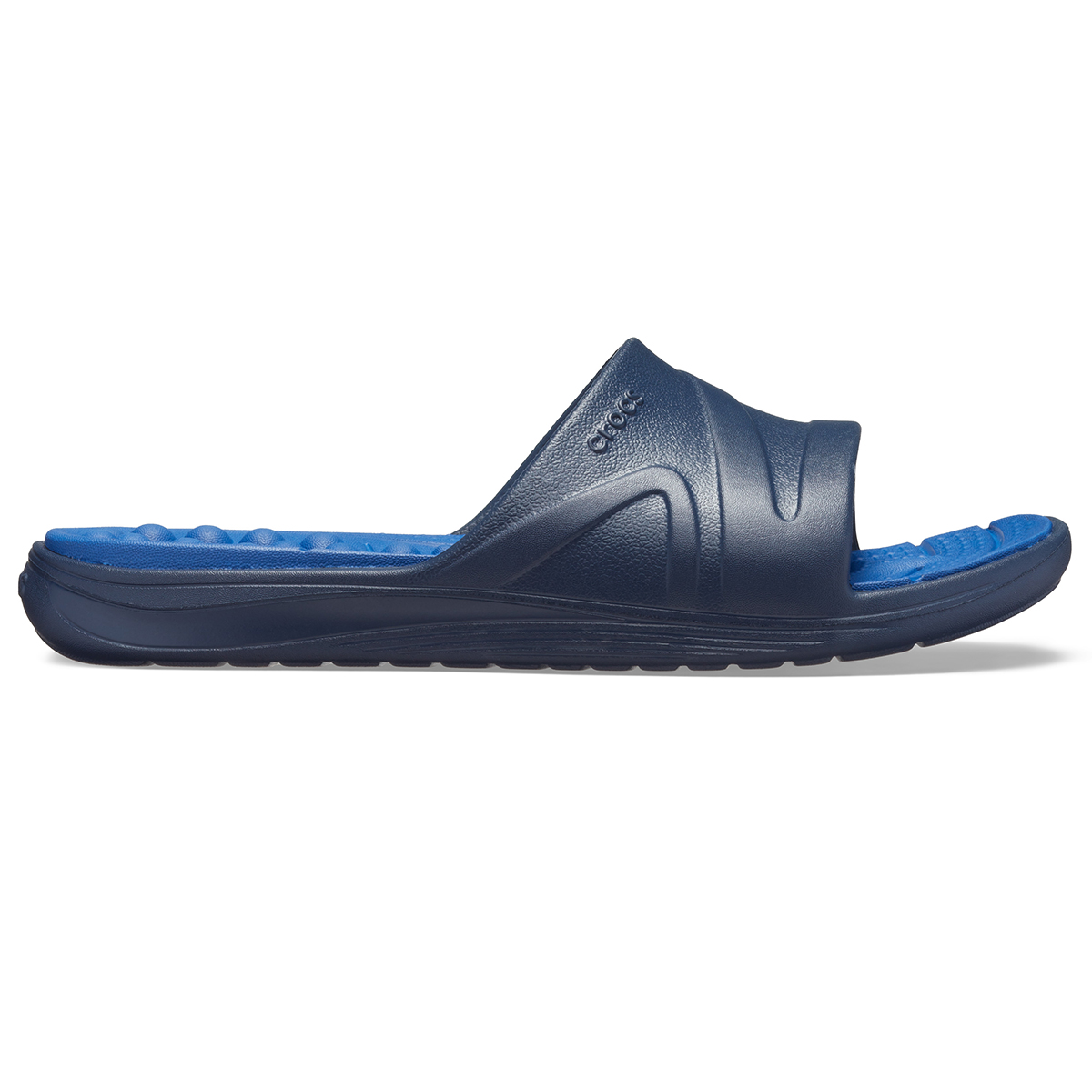Crocs Reviva Slide - Lacivert/Mavi Jean