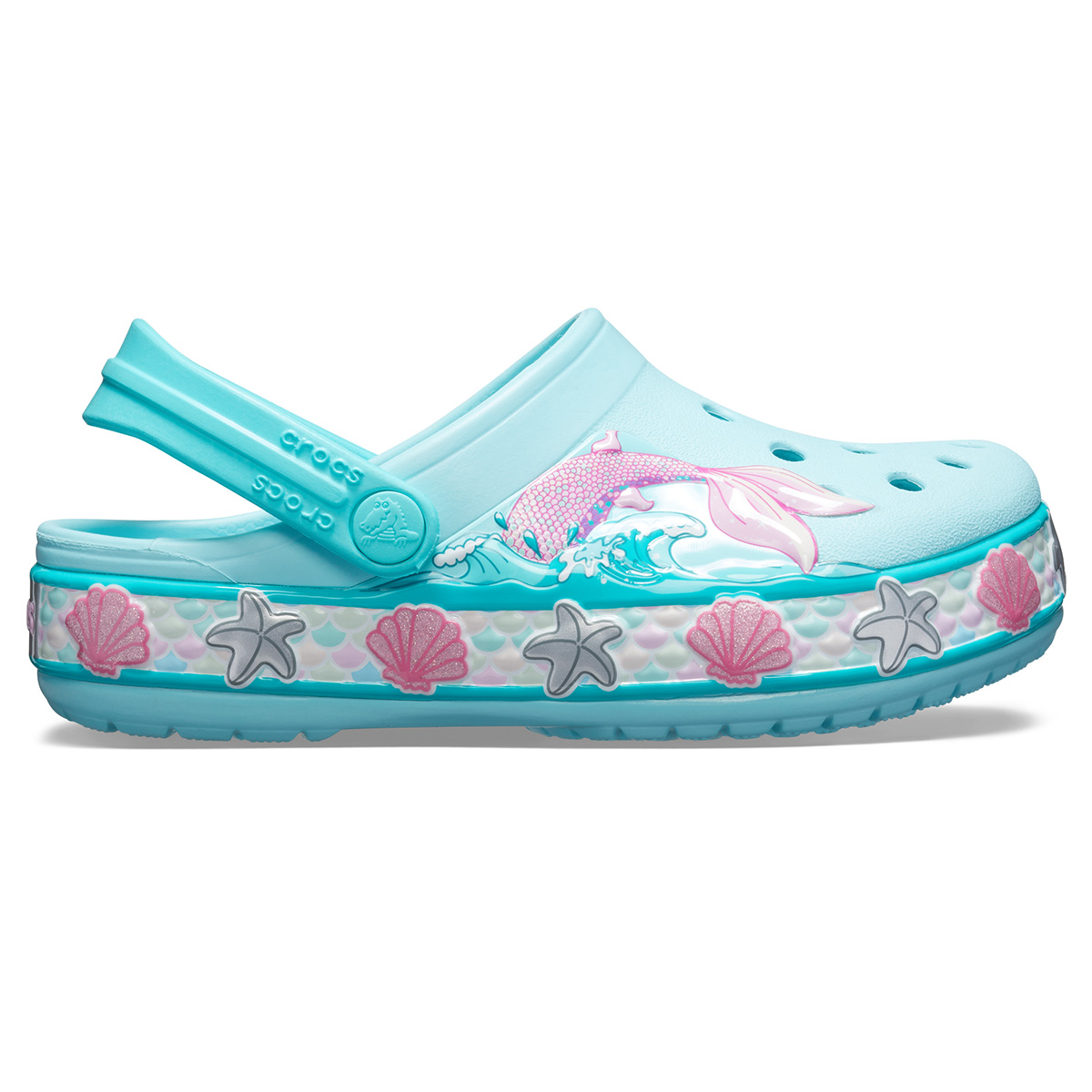 CrocsFL Mermaid Band Clog K - Buz Mavisi