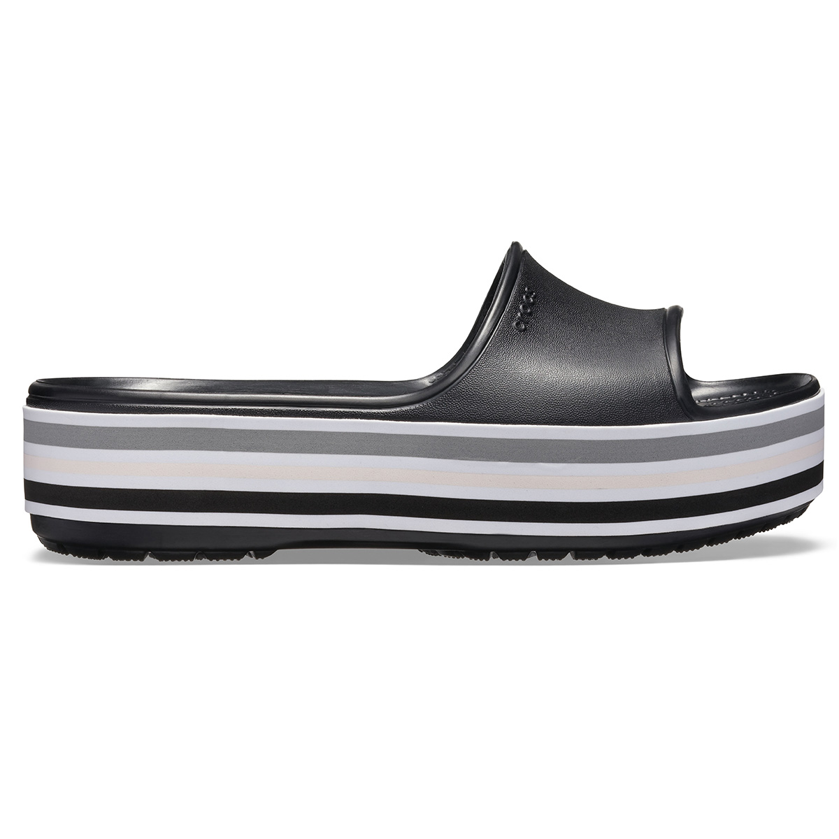 Crocs CB Platform Bld Color Slide - Siyah