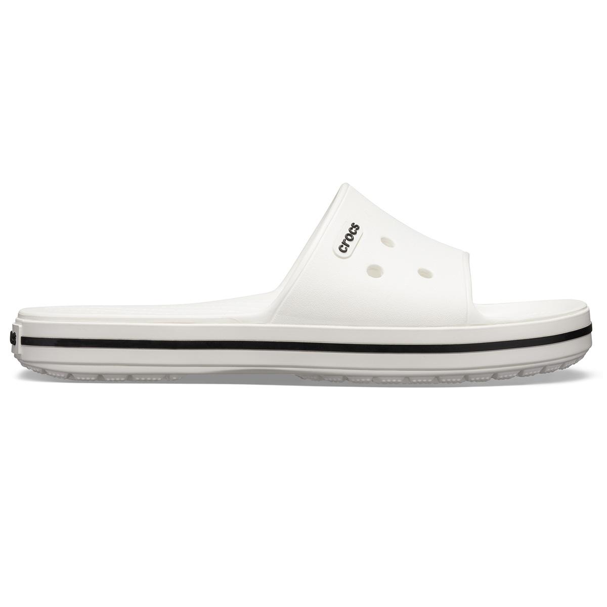 Crocs Crocband III Slide - Beyaz/Siyah