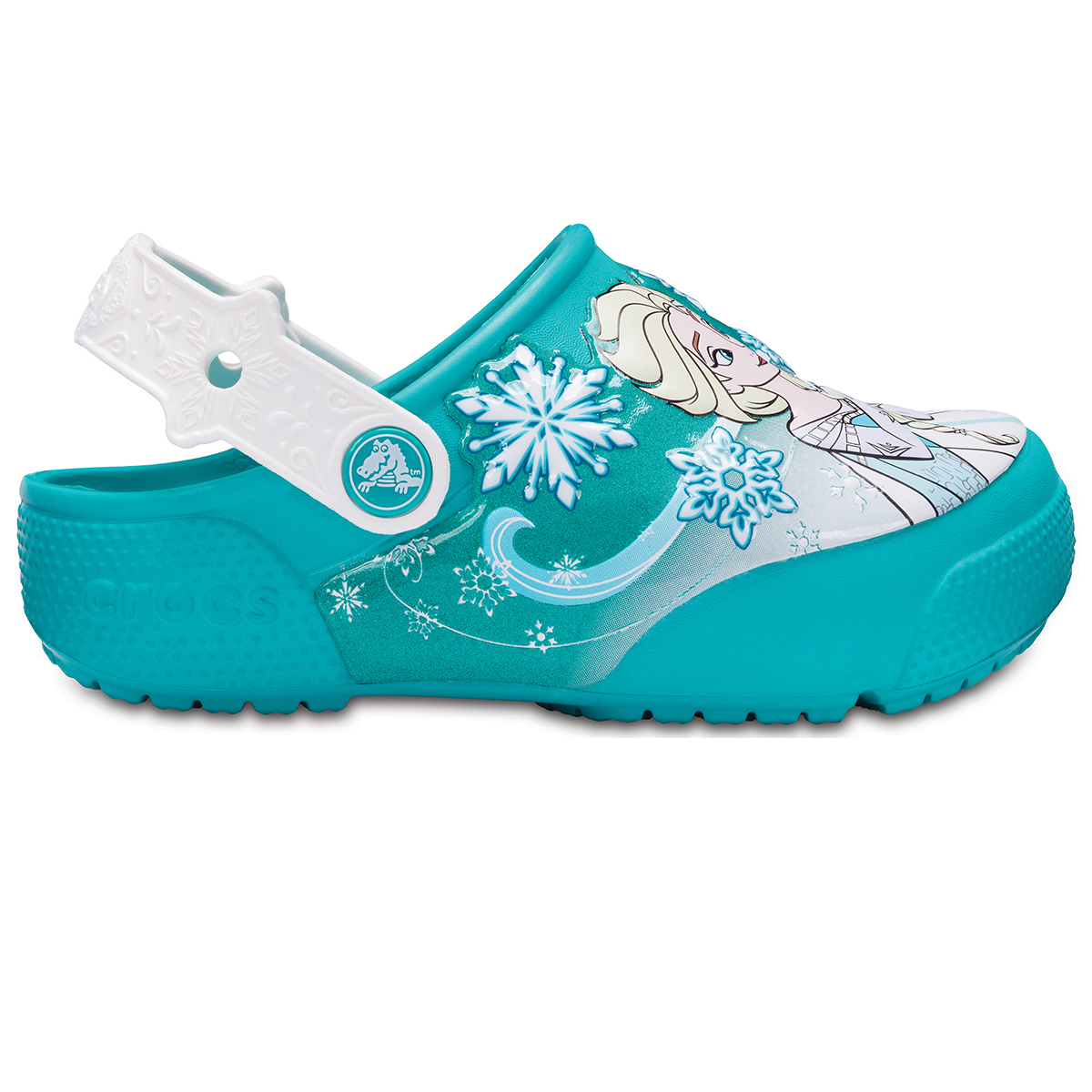 Crocs Fun Lab Frozen Lights Clog K - Tropikal Deniz mavisi
