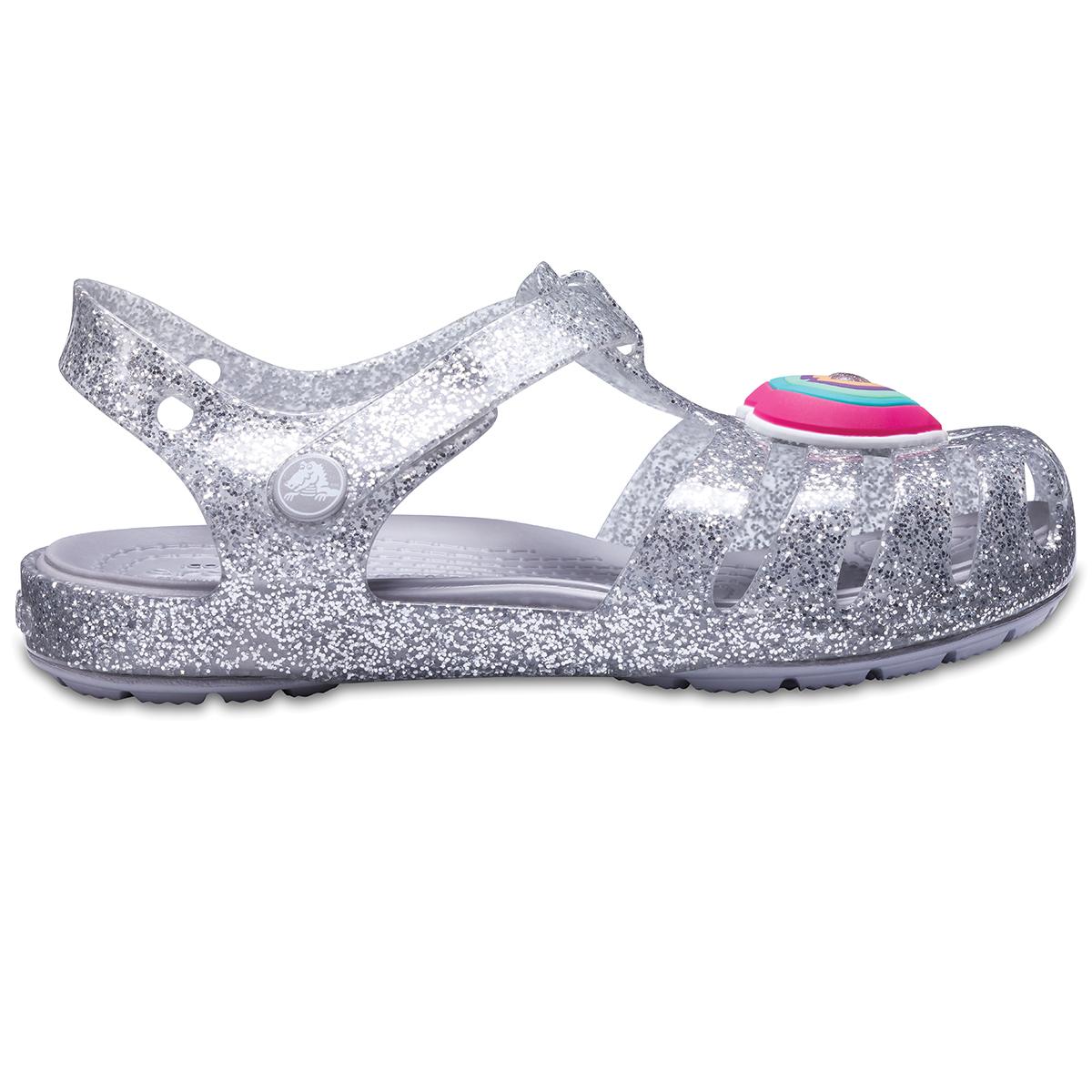 Crocs Isabella Novelty Sandal - Gümüş
