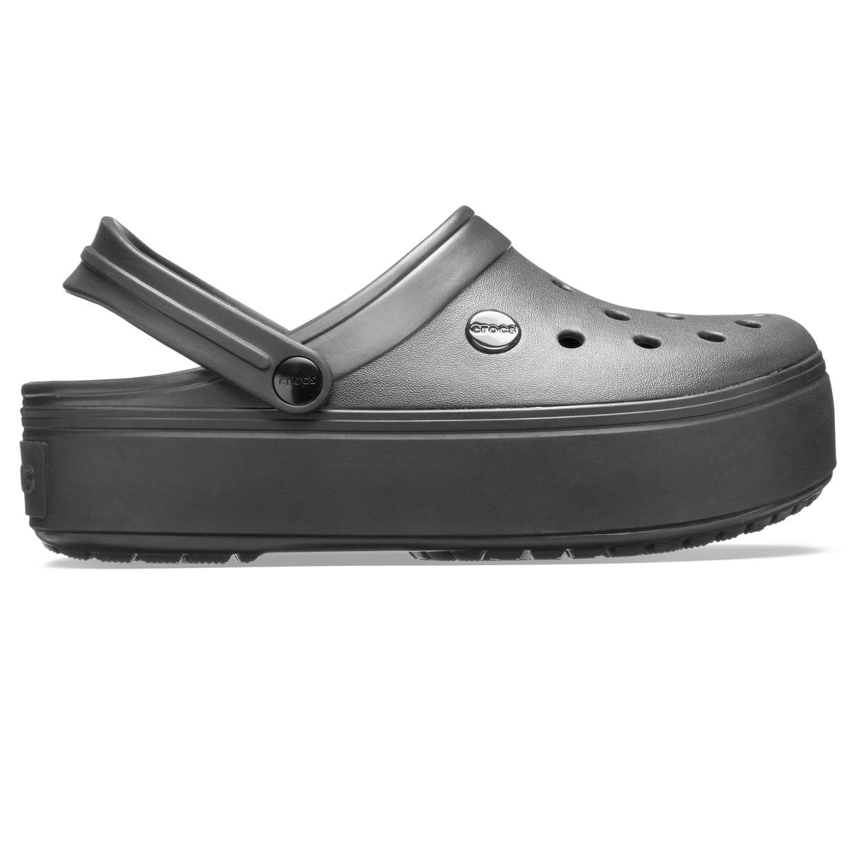 Crocband Platform Clog - Siyah/Siyah