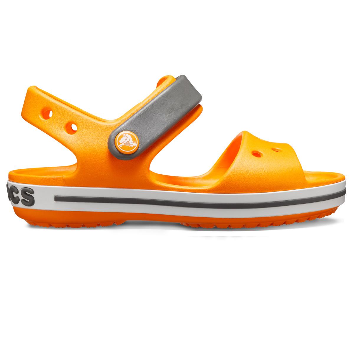 Crocband Sandal Kids - Turuncu/Barut Rengi