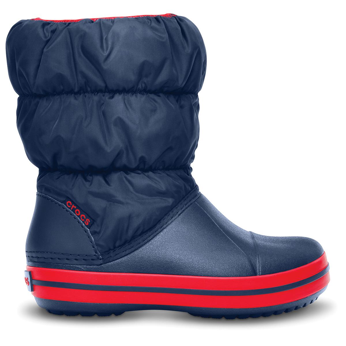 Winter Puff Boot Kids - Lacivert/Kırmızı