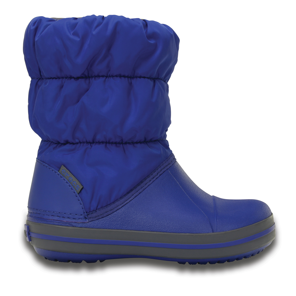 Winter Puff Boot Kids - Gök Mavisi/Açık Gri