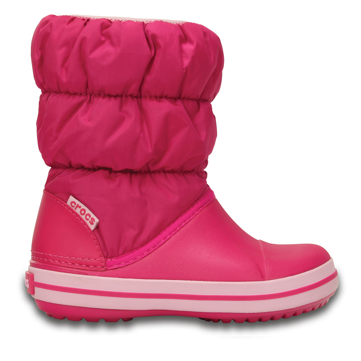 Winter Puff Boot Kids - Şeker Pembesi