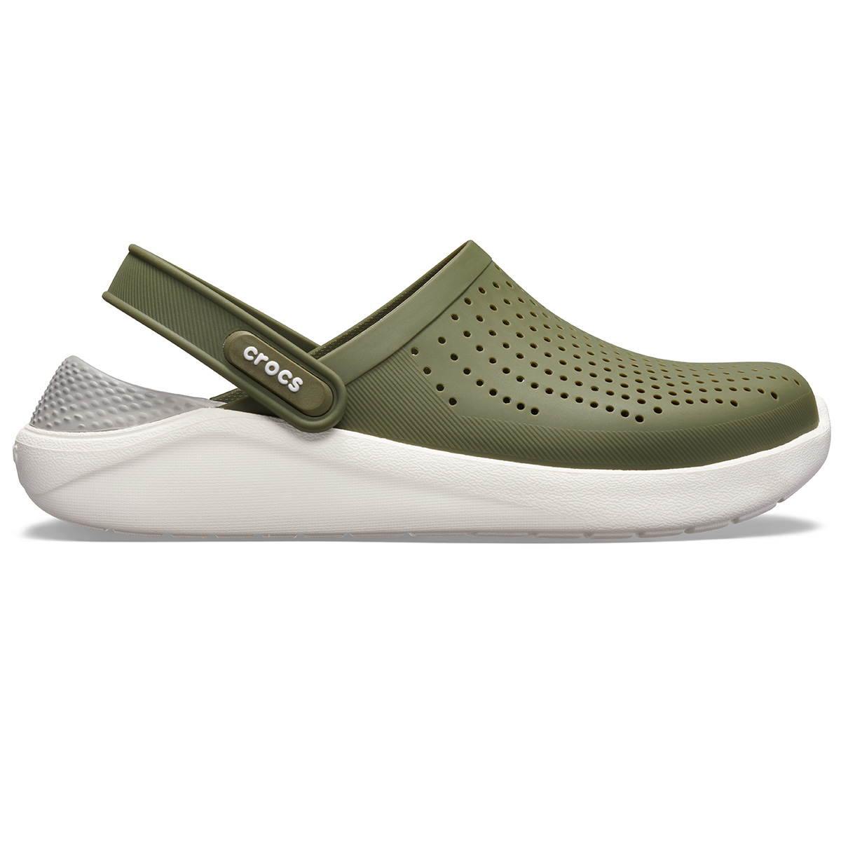 LiteRide Clog - Askeri yeşil/Beyaz