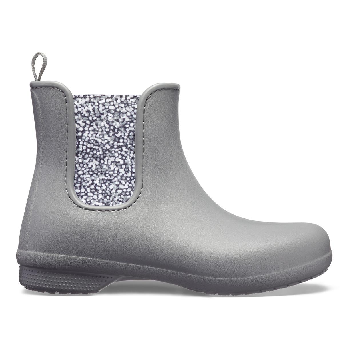 Crocs Freesail Chelsea Boot W - Barut Rengi/Benekli
