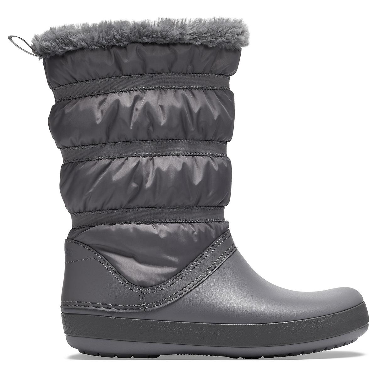 Crocband Winter Boot W - Kömür Rengi