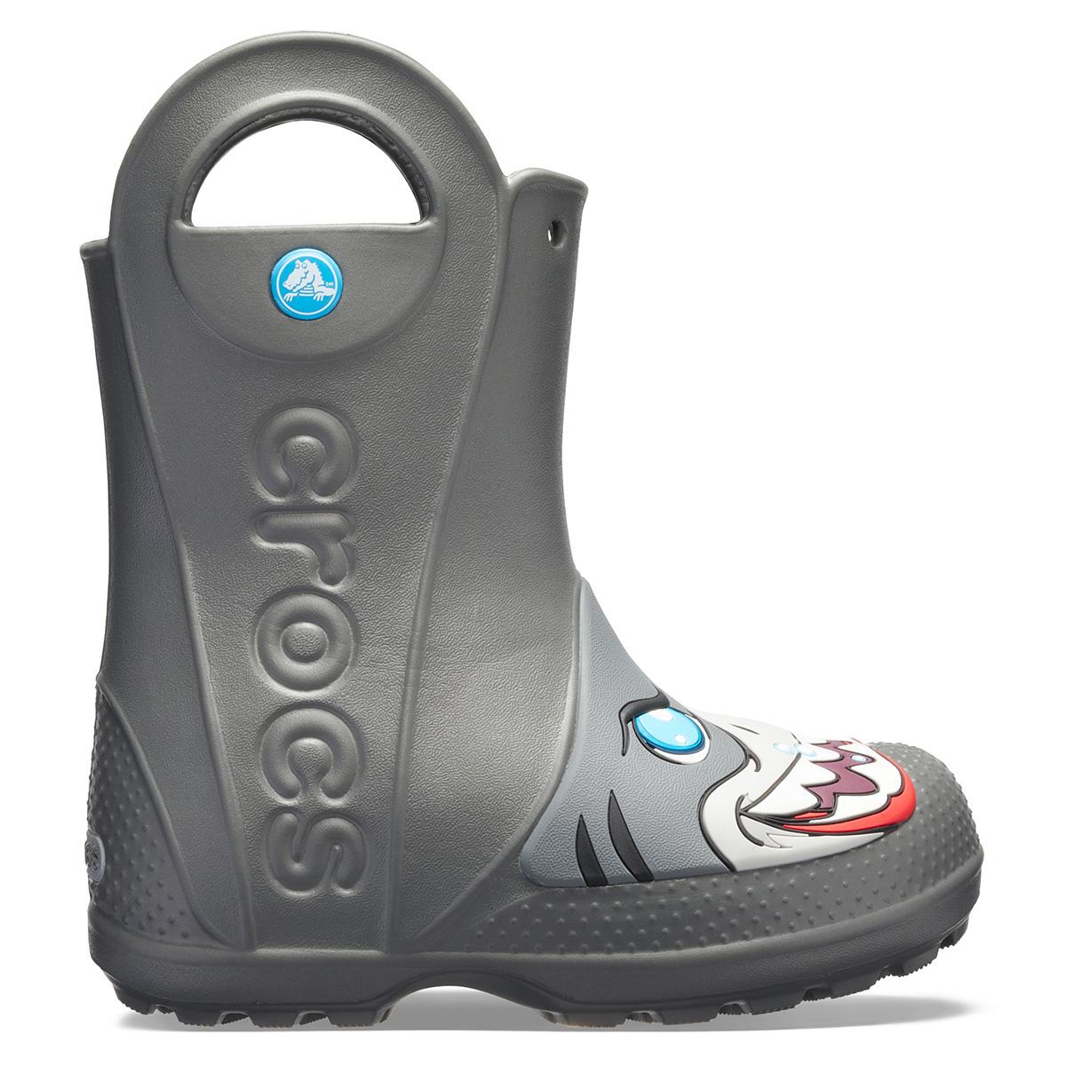 Crocs FL Creature Rain Boot K - Barut Rengi