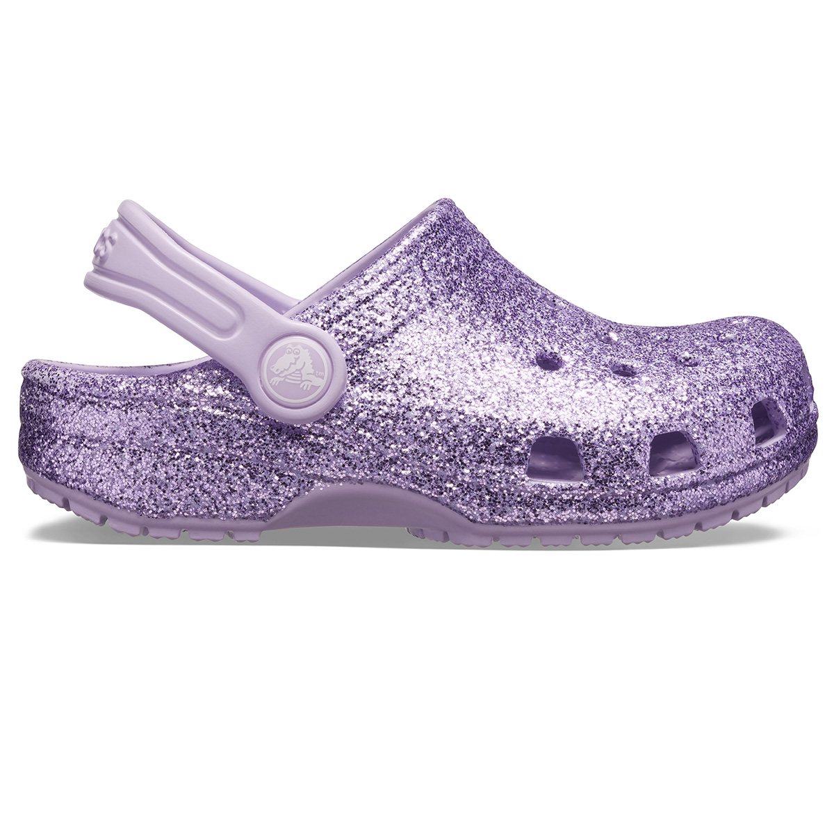 Classic Glitter Clog K - Lavanta