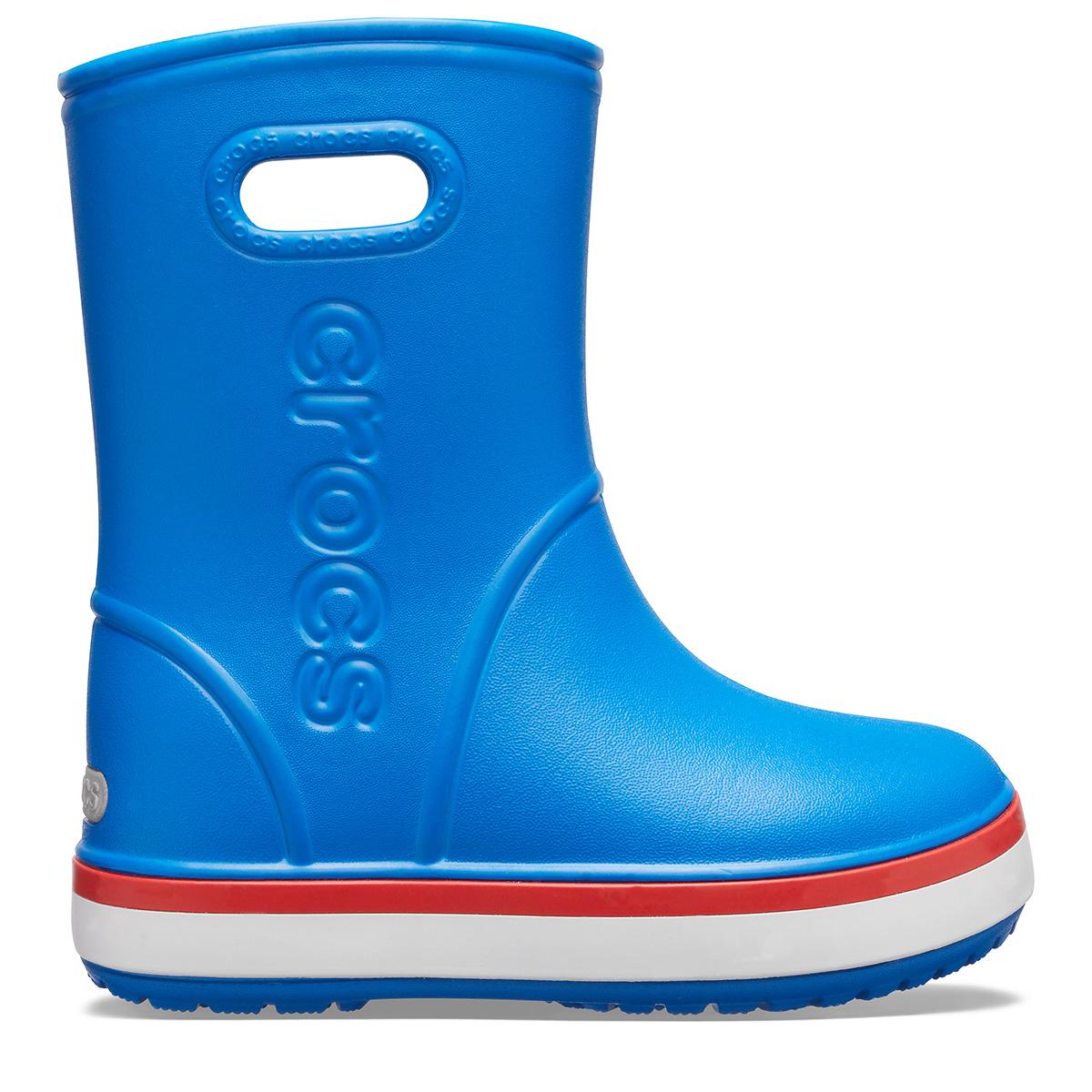 Crocband Rain Boot K - Parlak Kobalt Mavisi/Alev